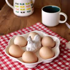 ceramic egg holder tray creative white ceramic egg plate porcelain egg tray container