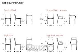 what is the standard height of a dining table and chair