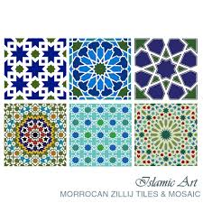 Morrocan Design Design With Glass Mosaic And Marble Mosaic Tiles Islamic Art