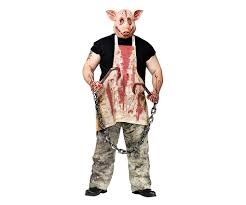 realistic costumes butcher pig realistic costume want that