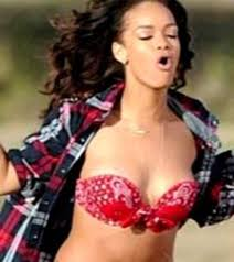 topless pictures of rihanna topless rihanna told to cover up by farmer on video shoot