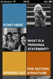 personal statement app helps you to write your ucas personal