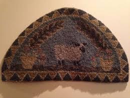Wool Hand Hooked Rugs 642 Best Rug Hooking Images On Pinterest Punch Needle Wool Rugs