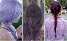 purple hair colors that actually look good hair world magazine