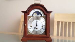 Hermle Grandfather Clock Franz Hermle Moonphase Arched Dial 8 Day Westminster Chime Bracket