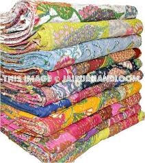 kantha quilts throws and blankets
