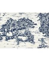 unexpected deals for brown toile bedding
