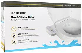 How To Hang Toilet Paper by Amazon Com Greenco Bidet Fresh Water Spray Non Electric