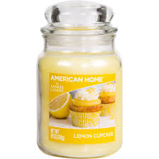 american home by yankee candle lemon cupcake 19 oz large jar
