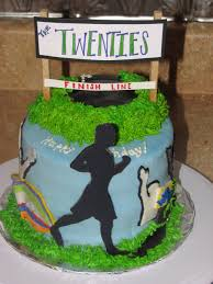 running themed cakes that take the cake
