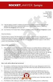 template contract of employment acas best resumes curiculum