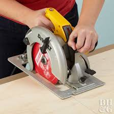 How To Use Table Saw Using A Circular Saw