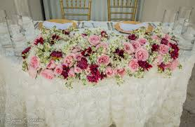 Sweetheart Table Decorations Stylish Beach Palace Wedding Blush Pink Wedding Theme Sweetheart
