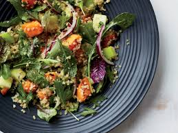 quinoa salad with sweet potatoes and apples recipe grace parisi