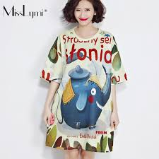misslymi plus size women t shirts dress 2017 new summer casual