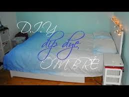 Duvet Cover Diy Diy Dip Dye Ombré Bed Sheets Duvet Cover Tutorial Mermaidannika