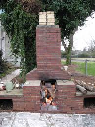 design ideas for outdoor brick fireplaces creative fireplaces
