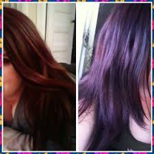 deep velvet violet hair dye african america 13 best before and after hair color images on pinterest hair