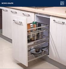 european style kitchen cabinet pull out basket gfr 214 buy