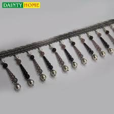 Beaded Fringe For Curtains Long Fringe Trim Long Fringe Trim Suppliers And Manufacturers At