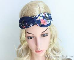 floral headbands 2018 fashionable boho floral headbands sports