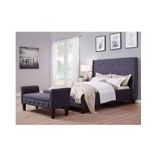 bedroom storage bench ottoman stool bed end living room wood