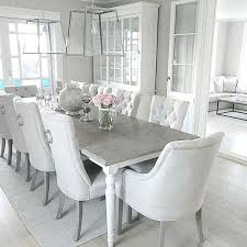 White And Gray Dining Table Gorgeous White Dining Table With Grey