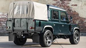 kahn land rover defender kahn design shows off their modified land rover defender double