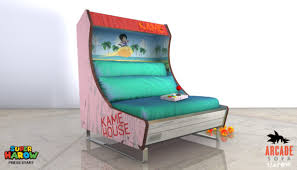 arcade game sofas are made for retro relaxation nerdist