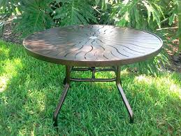 replace glass patio table top with wood round patio table top broken glass top patio table redone with wood