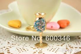 wine glass keychain gold plated fashion made wine glass keychain for diy online with