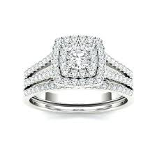 halo engagement ring settings only engagement ring set white gold 3 halo