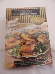 edition larousse cuisine larousse gastronomique hc dj 1966 recipes cookbook vintage 1st