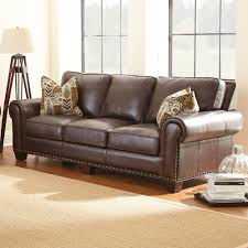 Living Room Pieces Steve Silver Escher 4 Piece Living Room Set In Coffee Bean Leather