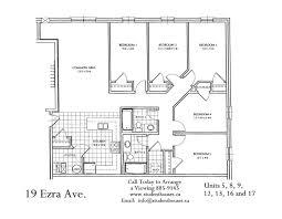 floor plans ezra bricker apartments