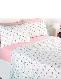 rosebud flannelette sheet sets home bedroom
