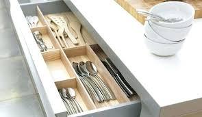 barre de rangement cuisine rangements pour couverts et ustensiles