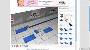 3d gymnastics and cheerleading gym design youtube