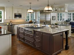 Seattle Kitchen Cabinets Seattle Java Kitchen Cabinets Traditional With Large Island Modern