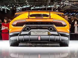 Lamborghini Huracan Back - lamborghini huracan performante 2018 picture 27 of 45