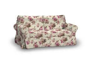 ikea canape ektorp slip cover for ikea ektorp 2 seater sofa in edinburgh floral print