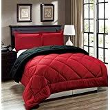 Black And Red Comforter Sets King Amazon Com Red Comforter Sets Comforters U0026 Sets Home U0026 Kitchen