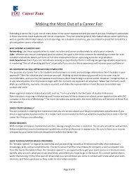 Resume For A Job Fair by Resume For A Career Fair Virtren Com