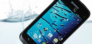 kyocera android a typical android that works water is clear in loud