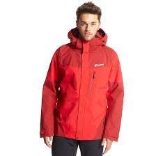 men s berghaus waterproof jackets blacks