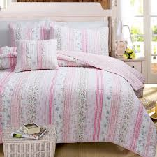 girls bedding pink shabby chic ruffled soft pink girls bedding twin full queen quilt