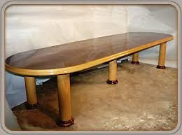 Oak Meeting Table Custom Conference Tables Solid Wood Conference Tables