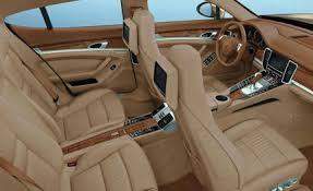 porsche hatchback interior 2011 porsche panamera panamera 4 review car and driver