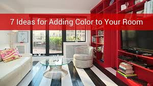 7 ideas for adding color to your room including painting laminate