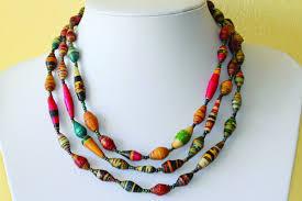 bead necklace jewellery images Paper bead necklace redbul energystandardinternational co jpg